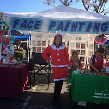 Photo: Maria can even dress up as Mr. Santa Claus to face paint for your Christmas party! http://www.memorableevententertainment.com/FacePainting/MariaChino,Ca.aspx