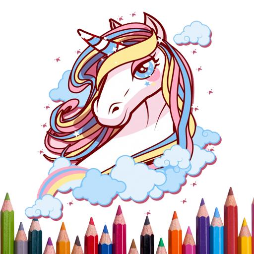 Mutlu Boyama Unicorn Boyama Kitabı Google Playde