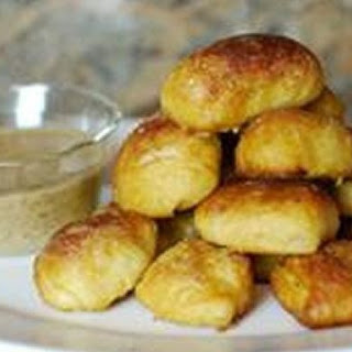 Sausage Stuffed Pretzel Bites