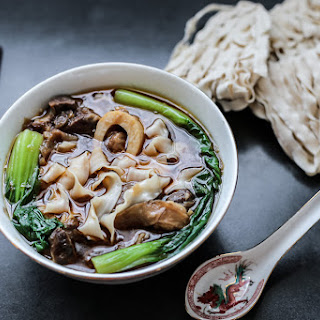 Taiwanese Beef Shank Noodle Soup Recipe