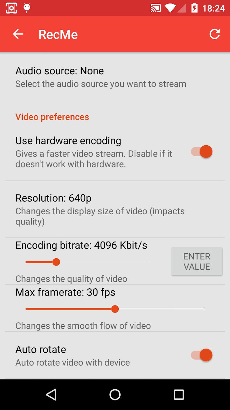 RecMe Screen Recorder Screenshot 4