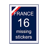 Missing Stickers - Panini 2016