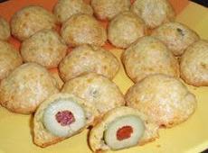 Baked Cheddar Olives Recipe