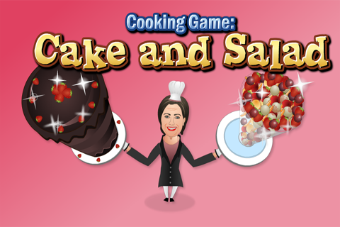 Cooking Game : Cake And Salad