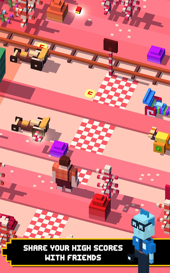 Screenshots of Disney Crossy Road for iPhone