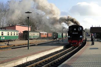 Photo: Putbus - Bahnhof