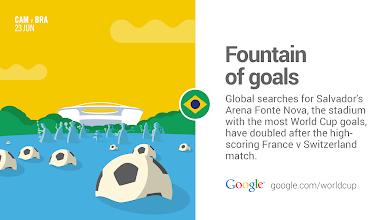 Photo: How can one stadium inspire so many goals? #BRAvsCAM #GoogleTrends