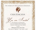 Wedding Site visit bridal day : Casa Toscana Lodge
