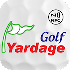 golfyardage - golf course map, distance monitoring icon