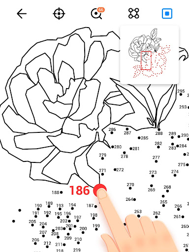 Dot to Dot to Coloring for PC
