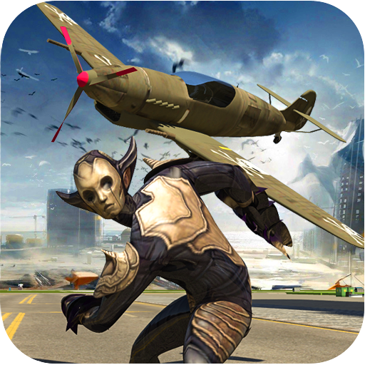 Sheriff Robot Aircraft Battleground (game)