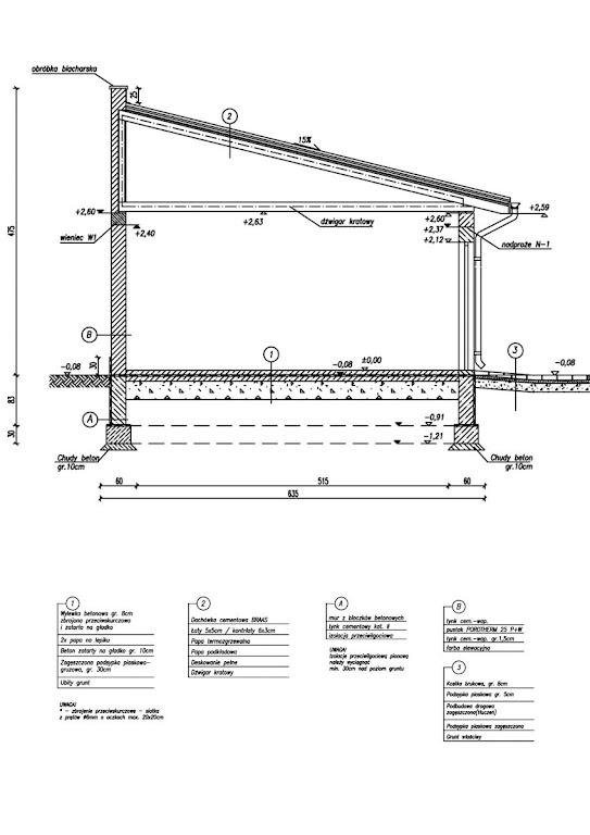 Projekt Garażu G27mini Tjk 446 275m²