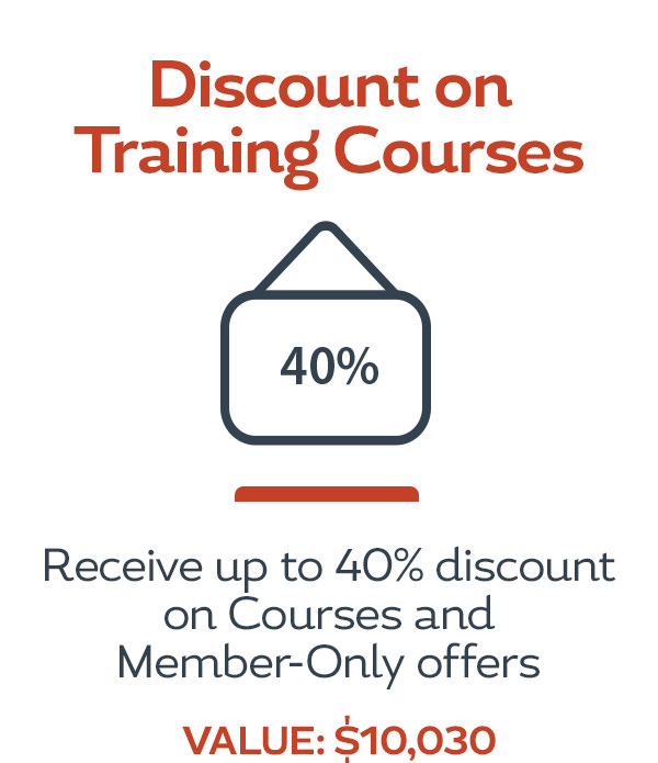 Discount on Courses