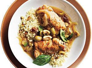 Chicken With Dates, Olives, And Cinnamon Recipe