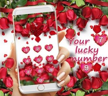 وردة حمراء موضوع خلفية حية تحميل Apk لعبة Android الجمال تم