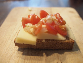 Photo: #creative366project April 15, 2012  A double post because I made the Bruschetta and the photo (-:
