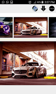 mercedes benz AMG wallpaper - náhled