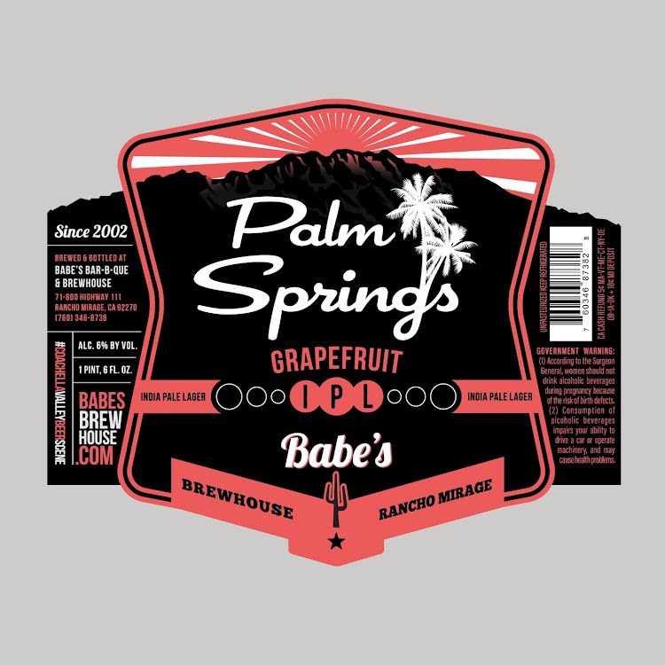 Logo of Babe's Palm Springs Grapefruit IPL