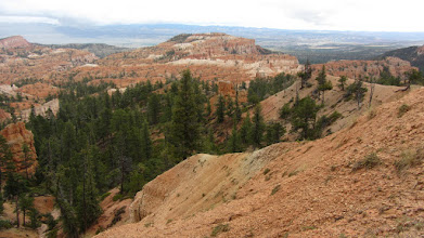 Photo: view in bryce canyon national park
