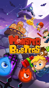 MonsterBusters: Match 3 Puzzle 5