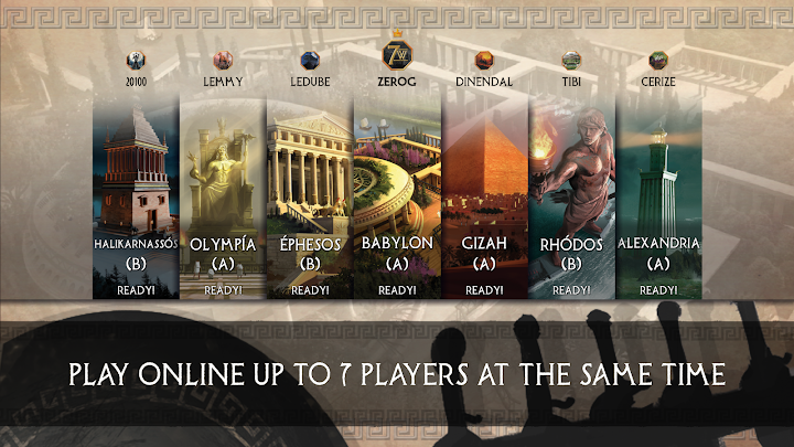 7 Wonders Android App Screenshot