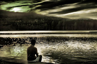Photo: July 21, 2012 Strange image... it's like nature is screaming  Good night!!:D  自分で写真をいじっておいてなんですが、変なイメージ。 自然が叫び声をあげているみたい。  ノルウェーは寝る時間なので・・・。おやすみなさい:D #creative366project
