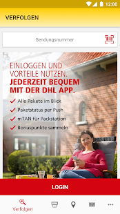 DHL Paket- screenshot thumbnail