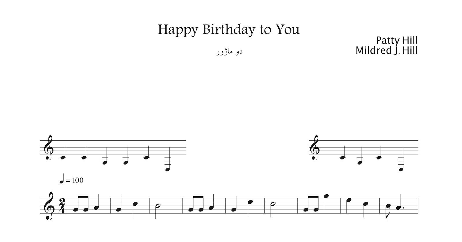 نت Happy Birthday To you