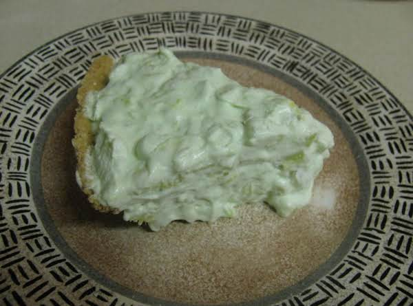 A Slice Of Pistachio Pie Is So Refreshing.
