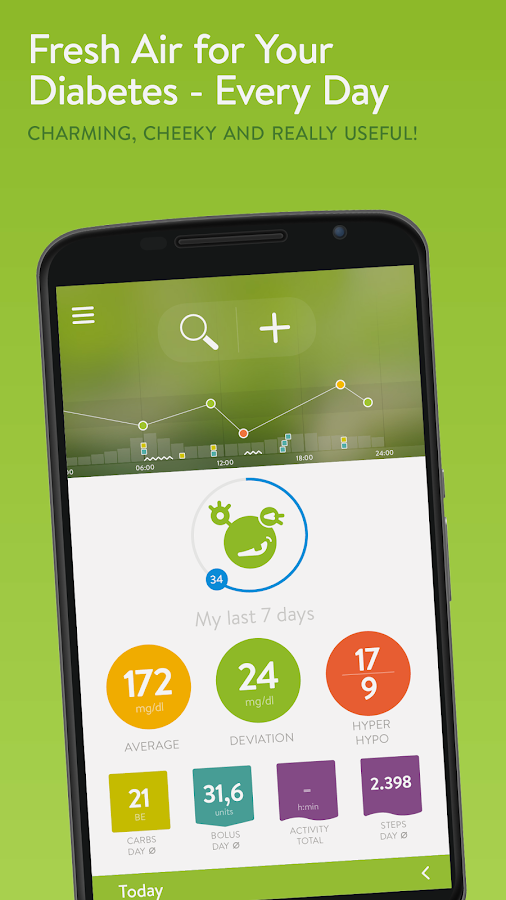 mySugr Diabetes Logbook- screenshot