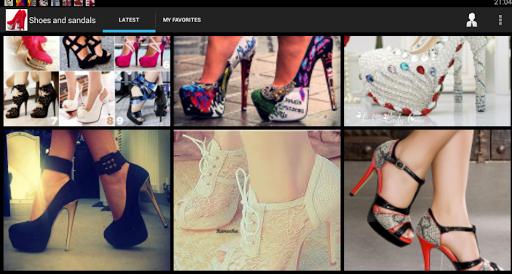 靴とサンダル ファッション 2015