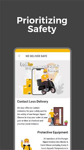 Eatiko - Screenshots von Food Delivery & Restaurant Finder 2