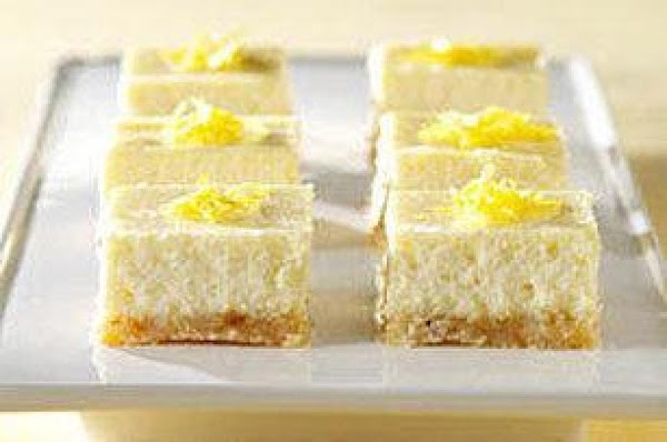 Lemon Cheesecake Bars (passover) Recipe