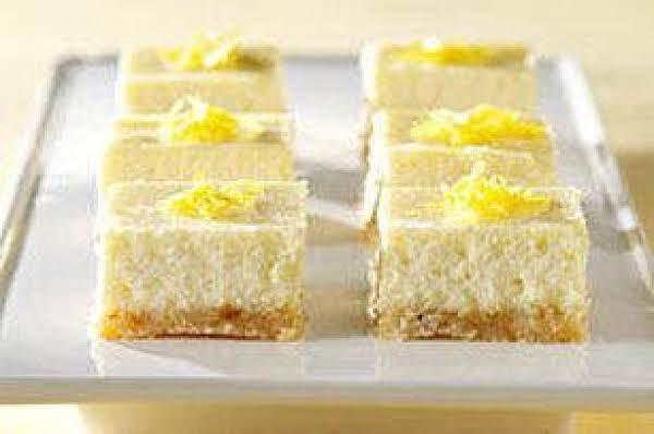 Lemon Cheesecake Bars (passover)