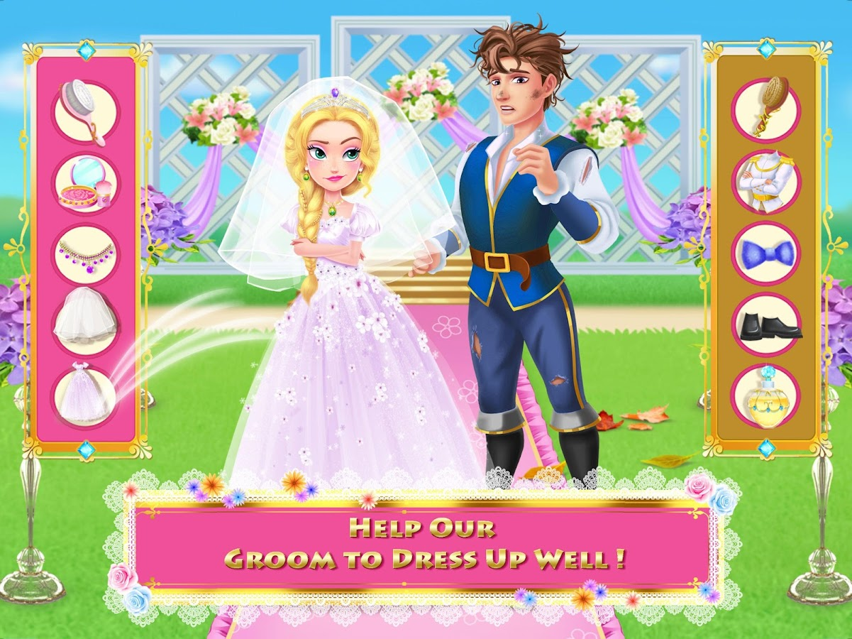 Long Hair Princess 4 - Happy Wedding- screenshot