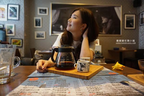 台北咖啡廳【徠一咖啡】台北東區近仁愛圓環信義安和站港式茶餐廳,滿滿的萊卡相機,從香港來的記者老闆帶給你一杯難忘的真咖啡