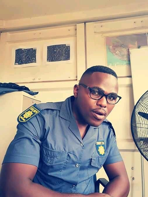 Sgt Mnakwazo Mdoko, 46, and Constable Mninawa Breakfast (pictured), 28, were fatally shot in the early hours of Sunday morning.