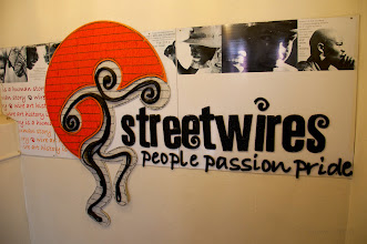 Photo: Next was Streetwires - a Fair Trade organisation creating employment through the designing, creating & marketing of wire & bead craft.