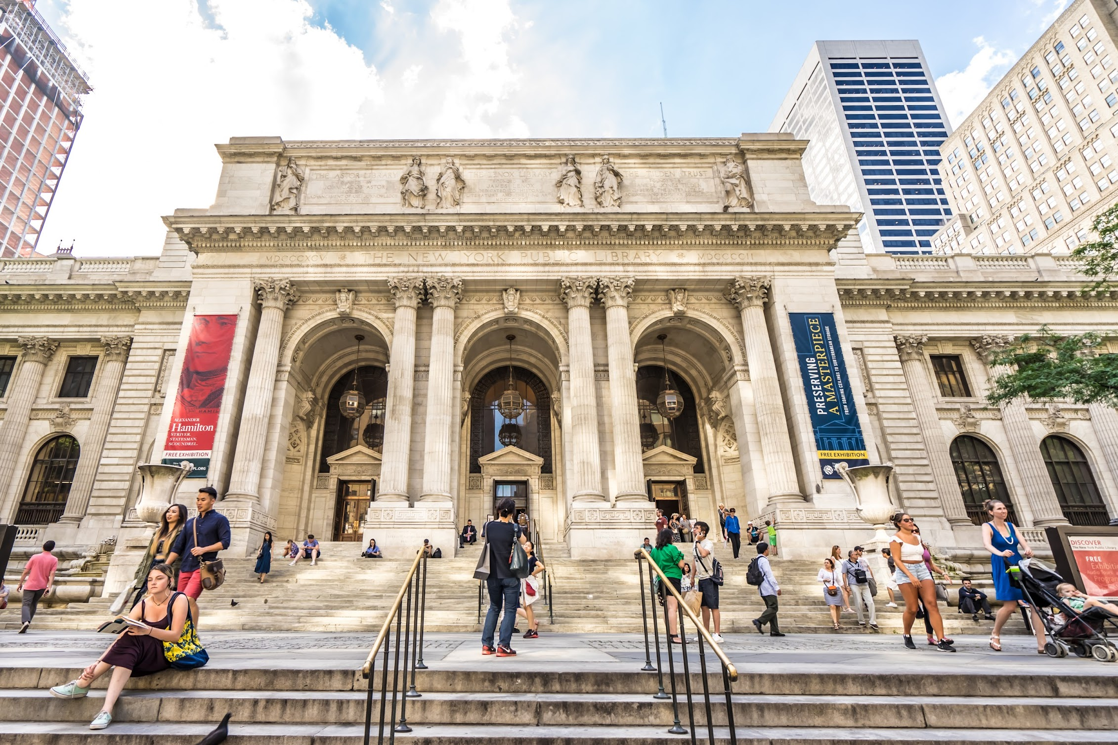 ニューヨーク公立図書館(The New York Public Library)2