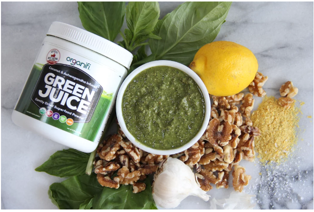 Make This Homemade Pesto Sauce to Support Detoxification, Boost Immunity and Lose Weight