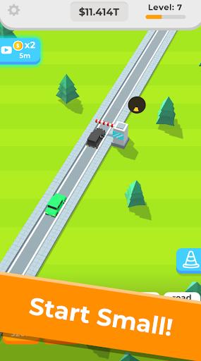 Télécharger Gratuit Idle Highway  APK MOD (Astuce) screenshots 1