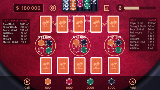 Caribbean Stud Poker 1.1.7 screenshots 1