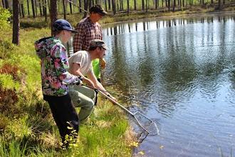 Photo: Mikko Malin Metsähallitukselta avustaa Oskari Jääsköä