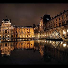 Louvre by Jerzy Szablowski - Travel Locations Landmarks