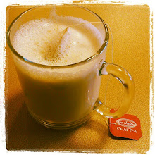 Photo: Une tasse de thé chai pour se réchauffer. #chai #latte #tea