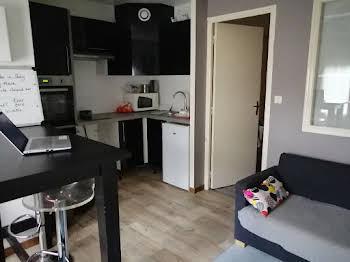 Appartement meublé 2 pièces 24,44 m2