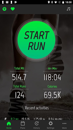 Running Distance Tracker + screenshot 1