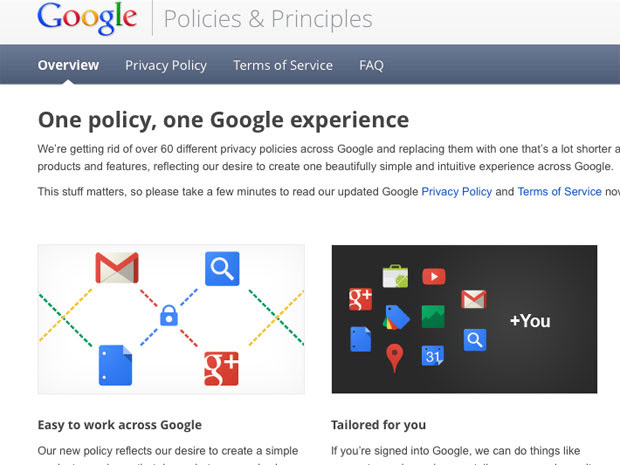 Google Data Policy