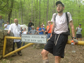 Photo: The man, Brett Maune after setting a new Course Record.  This due is tough as nails!
