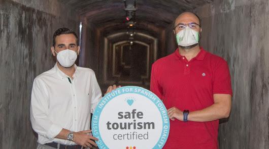 Almería renueva el sello de calidad 'Safe Tourism' en sus espacios públicos